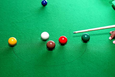 snooker bile