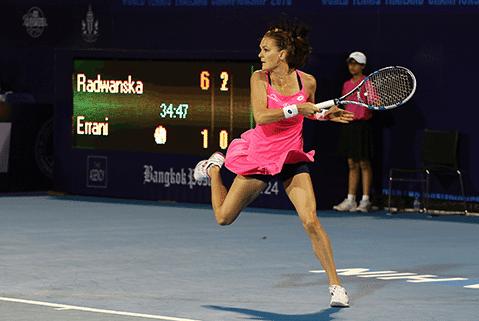 Agnieszka Radwańska, tenis: zakłady bukmacherskie