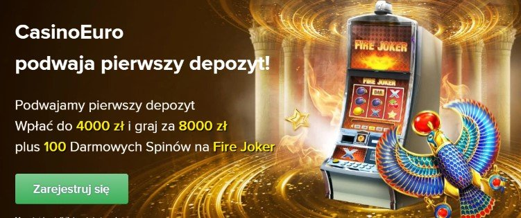Bonus w CasinoEuro