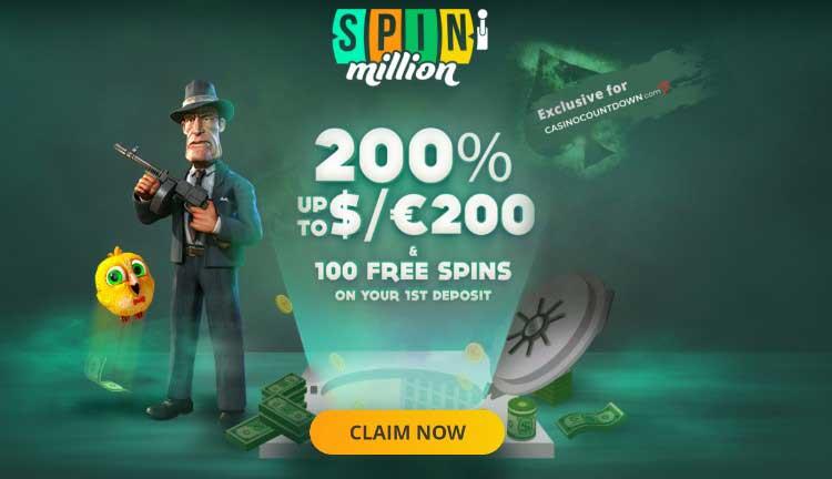 Spin Million Bonus i Opinie