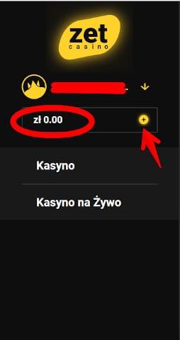 Zet Casino depozyt
