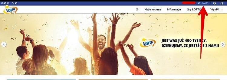 metody platnosci lotto.pl