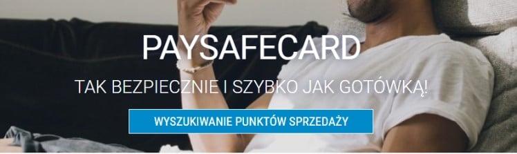 Wpłata przez Paysafecard - informacje