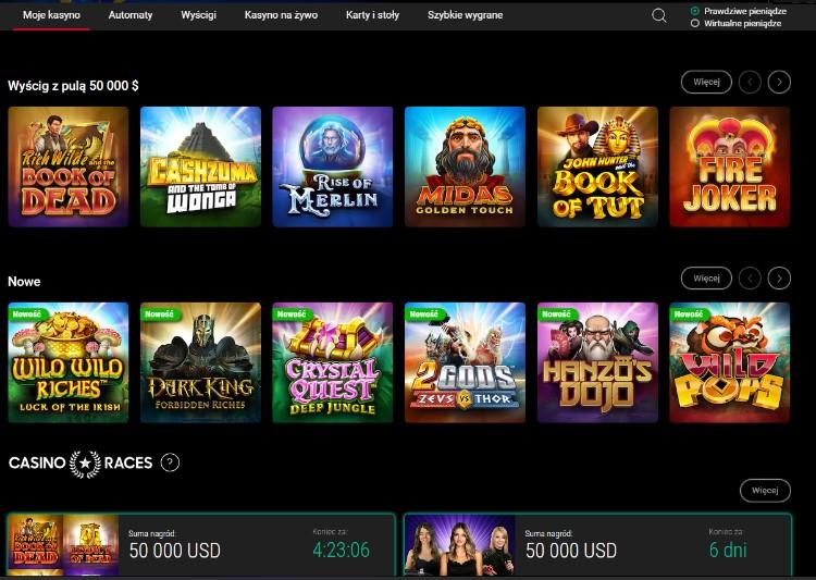 gry w Pokerstars Casino