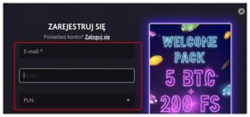 7Bit-Bitcoin-Casino-formularz-rejestracyjny