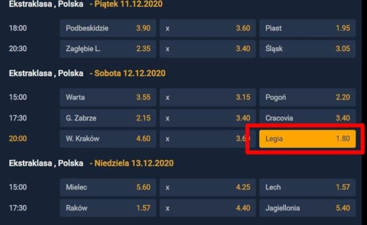 Wisla-Krakow-Legia-Warszawa